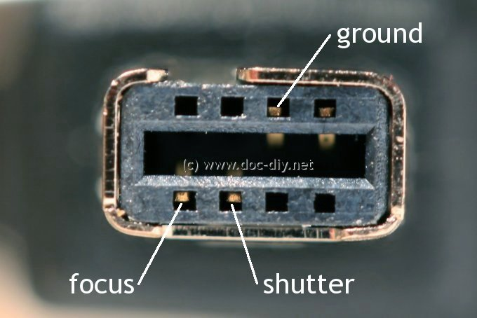www doc-diy net :: camera remote release pinout list